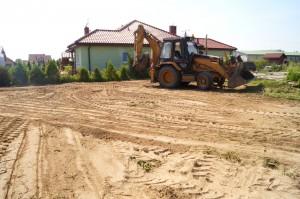 niwelacja terenu