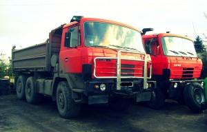 tranport ciężarowy
